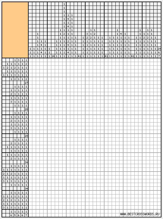 японские кроссворды печать